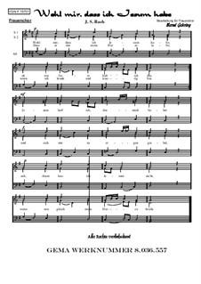 Jesu, Joy of Man's Desiring: For female choir, Op.157 by Иоганн Себастьян Бах