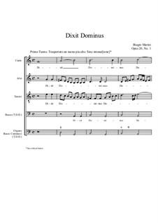Dixit Dominus: Dixit Dominus by Бьяджо Марини
