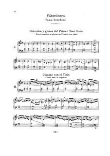 Восемь фобурдонов: Сборник by Антонио де Кабесон