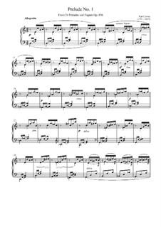 Der Pianist im klassischen Style, Op.856: Прелюдия до мажор by Карл Черни