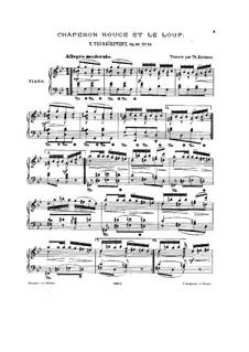 Красная Шапочка и волк: Для фортепиано by Петр Чайковский
