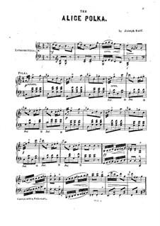 Alice Polka: Alice Polka by Joseph Kaspar Raff