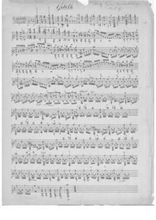 Barden-Klänge (Bardic Sounds), Op.13: No.12 Gebeth by Иоганн Каспар Мерц