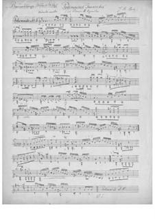 Barden-Klänge (Bardic Sounds), Op.13: No.22 Three Polonaises by Иоганн Каспар Мерц