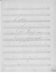 Избранные пьесы: Для гитары (рукопись) by Иоганн Каспар Мерц