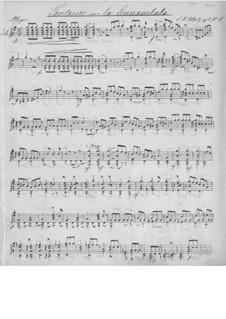 Фантазия на тему из оперы 'La Sonnambula' Беллини, Op.8 No.4: Фантазия на тему из оперы 'La Sonnambula' Беллини by Иоганн Каспар Мерц