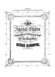 Двенадцать этюдов для фортепиано, тетрадь I, Op.50: Двенадцать этюдов для фортепиано, тетрадь I by Рихард Кляйнмихель