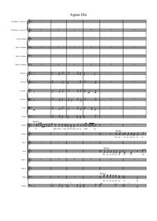 Missa Sanctae Maria Magdalenae: Agnus Dei by Джованни Феличе Санчес