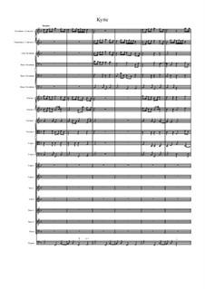 Missa Sanctae Maria Magdalenae: Kyrie by Джованни Феличе Санчес