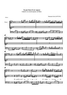Se pur fosse il cor capace: Se pur fosse il cor capace by Domenico Sarro