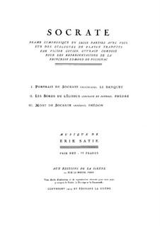 Сократ : Сократ by Эрик Сати