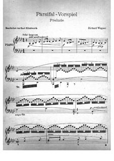 Фрагменты: Вступление, для фортепиано by Рихард Вагнер