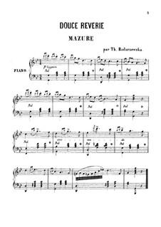 Douce Reverie: Для одного исполнителя by Тэкля Бондажевска-Барановска