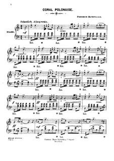 Коралловый полонез: Для фортепиано by Фридрих Баумфельдер