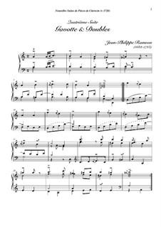 Сюита для клавесина ля минор, RCT 5: Gavotte et doubles by Жан-Филипп Рамо