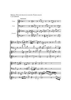 Клавесинный концерт No.1 до минор, RCT 7: Часть I 'La coulicam' by Жан-Филипп Рамо