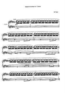Ночной Гаспар, M.55: No.1 Ундина by Морис Равель