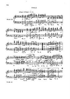 Симфонические этюды, Op.13: No.12 by Роберт Шуман
