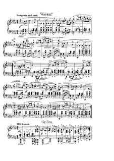 Фантастические пьесы, Op.12: No.3-4 by Роберт Шуман