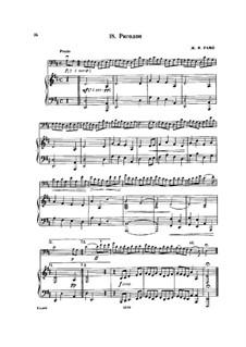 Ригодон: Для виолончели и фортепиано by Жан-Филипп Рамо