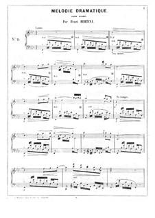 Дрпматическая мелодия: Дрпматическая мелодия by Анри Жером Бертини