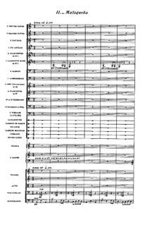 Испанская рапсодия, M.54: No.2 Малагенья by Морис Равель