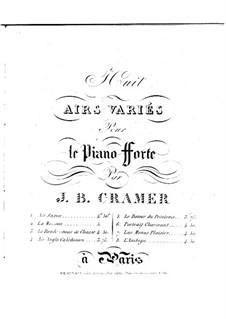 Вариации на тему саксонской арии: Вариации на тему саксонской арии by Иоганн Батист Крамер