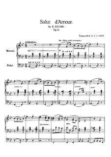 Любовное приветствие, Op.12: Для органа by Эдуард Элгар