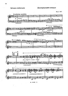 Три фантастические импровизации, Op.2: Импровизация No.3 by Николай Метнер