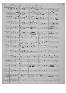Военный марш для духового оркестра: Военный марш для духового оркестра by Хуан Кризостомо де Арриага