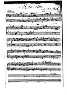 Соната для гобоя и бассо континуо соль минор, H 549 Wq 135: Соната для гобоя и бассо континуо соль минор by Карл Филипп Эммануил Бах