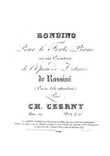 Рондино до мажор, Op.22 No.1: Рондино до мажор by Карл Черни