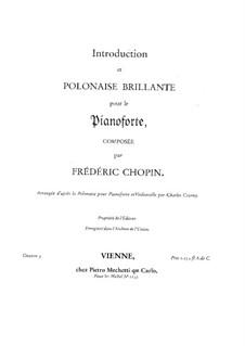 Интродукция и Блестящий полонез до мажор, Op.3: Для фортепиано by Фредерик Шопен