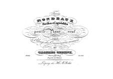 Три рондо: Для фортепиано by Карл Черни