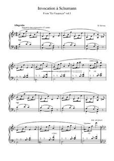 En Vacances (Holiday Time): No.1 Invocation à Schumann by Деодат де Северак