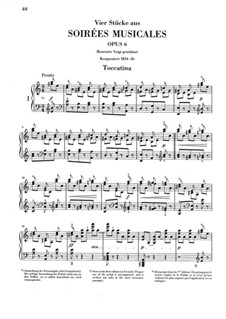 Музыкальные вечера, Op.6: No.1 Токкатина by Клара Шуман