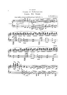 Соната No.2 для фортепиано, Op.11: Соната No.2 для фортепиано by Дмитрий Мелких