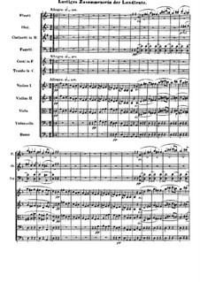 Часть III. Веселое сборище поселян: Партитура by Людвиг ван Бетховен
