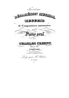 Пьесы для фортепиано, Op.251: Пьесы для фортепиано by Карл Черни