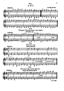Пьесы для детей, Op.340: Пьесы для детей by Дитрих Круг