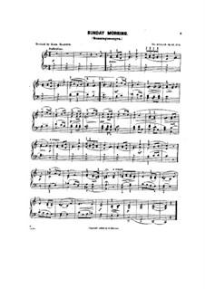 Детские сцены, Op.62: No.3 Sanday morning by Теодор Куллак