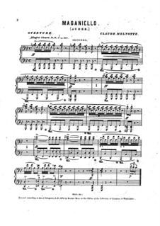 Увертюра: Для фортепиано в 4 руки by Даниэль Обер
