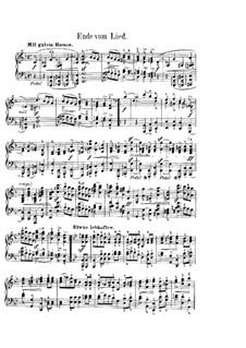 Фантастические пьесы, Op.12: No.8 Ende vom Lied (End of the Song) by Роберт Шуман