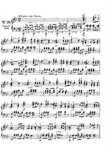 Песни без слов, Op.62: No.2 Allegro con fuoco by Феликс Мендельсон-Бартольди