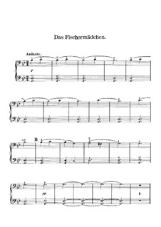 Венгерские эскизы, Op.24: No.2 The Fisher Maid – piano II part by Роберт Фолькманн