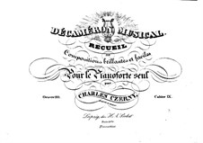 Пьесы для фортепиано, Op.110: Тетрадь IX by Карл Черни
