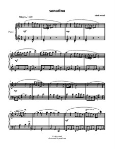 Sonatina: Sonatina by Chris Wind