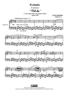 Preludio No.1 in si minore per piano, CS045 No.1: Preludio No.1 in si minore per piano by Santino Cara