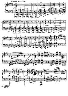 Соната для фортепиано No.1, Op.6: Части III-IV by Александр Скрябин