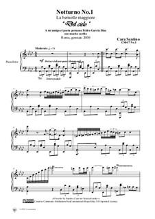Notturno No.1 in la bemolle maggiore per piano, CS047 No.1: Notturno No.1 in la bemolle maggiore per piano by Santino Cara